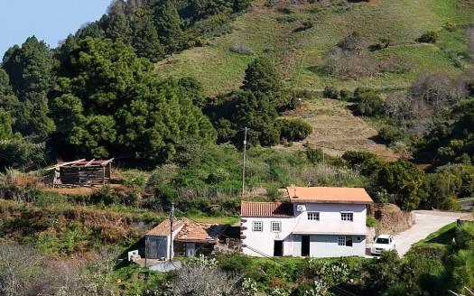 Casa de campo Valle Verde - Garafía - La Palma - Las Canarias